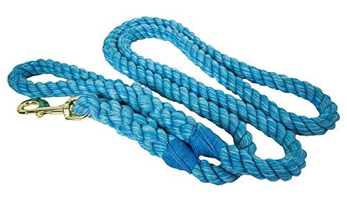 Cotton Rope Pet Lead - Dog Leash Horse Lead Handmade USA 1/4
