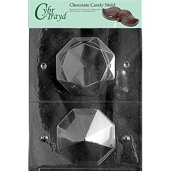 Amazon Com Cybrtrayd W026 Large 3d Diamond Chocolate