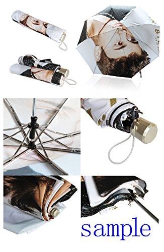 Kundenspezifischer faltbarer Umbrella Diy personifizierter Entwurfs-beweglicher Reise-Regenschirm f¨¹r Sonne und Regen A XhuvDr6Q