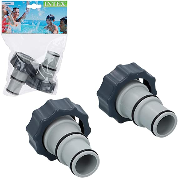 Intex Pack 2 adaptadores A para Tubos de 32 mm a 38 mm: Amazon ...