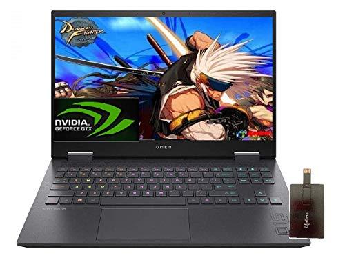 "2020 HP OMEN Gaming Laptop, 15.6"" FHD IPS 144Hz, AMD Ryzen 7 4800H 8-core(Beat i7-9850H), GeForce GTX 1660 Ti, 8GB RAM, 512GB SSD, RGB Backlit Keyboard, Windows 10 with E.S 32GB USB Card"