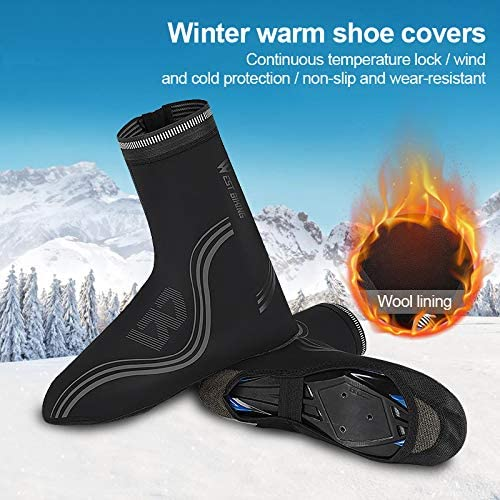 for Cycling MTB Bicycle Booties Velvet and Alid Shoe Covers YYIXING Waterproof Cycling Shoe Covers
