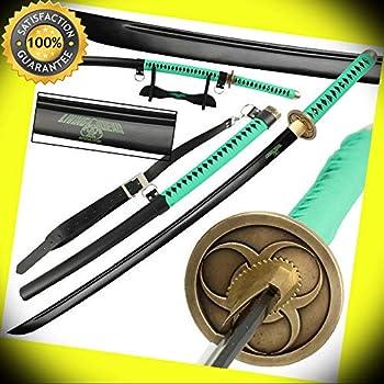 Zombie Wooden Samurai Katana Sword with Scabbard Cosplay Weapon