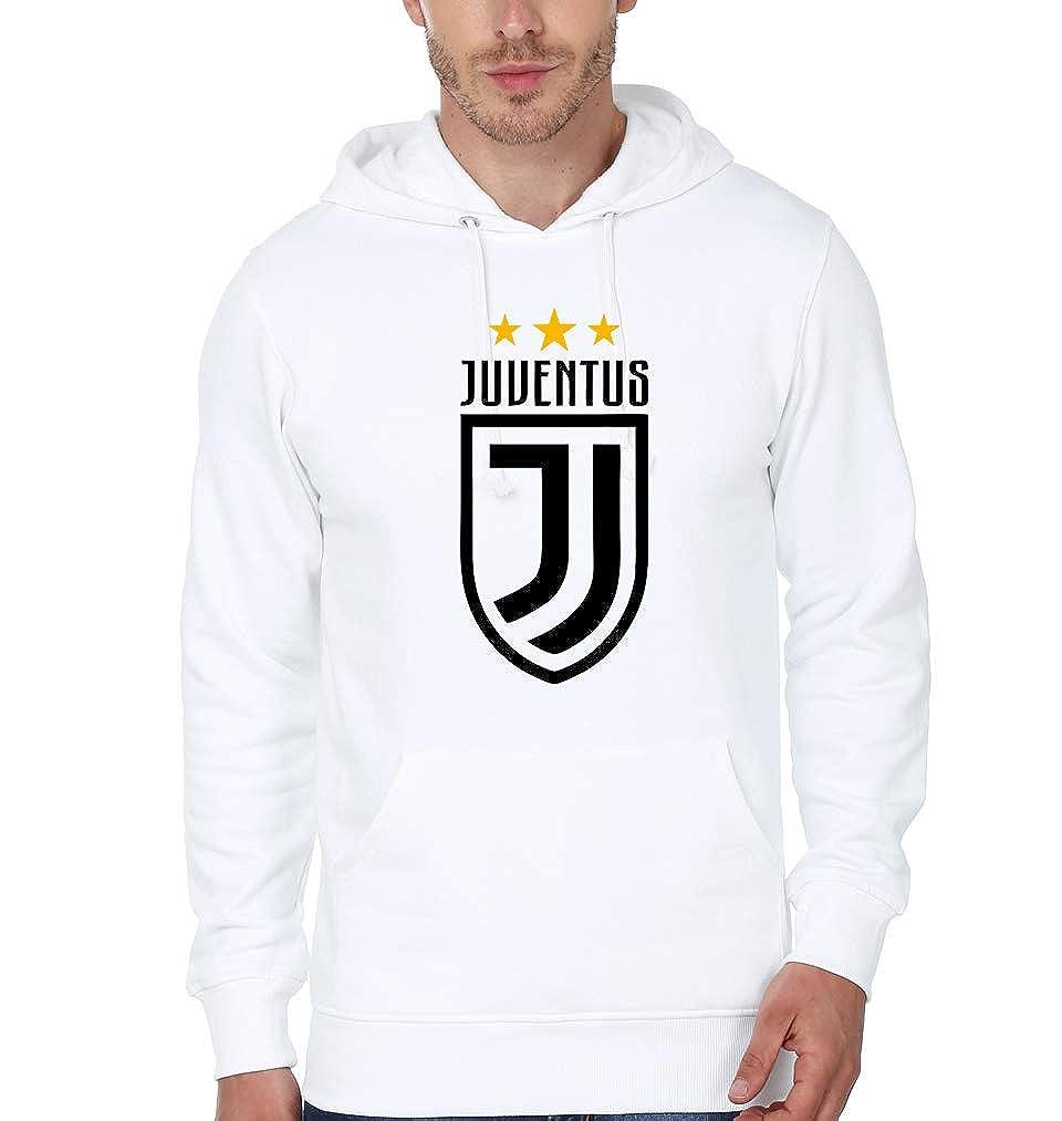84a378a34 EKTARFA Men s Cotton Juventus Hoody (White