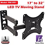 Home Bliss Heavy Wall Mount Stand for 17 32-inch LCD LED TV