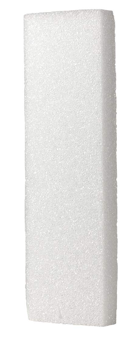Hygloss Products White Styrofoam Blocks - for Projects, Arts, Crafts, 4 by 12 by 1-Inch, Pack of 6