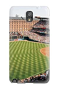 New Style Case Cover WazYUsJ7590dFKba Baltimore Orioles Compatible With Galaxy Note 3 Protection Case