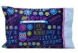 Flipside Pillow Perfect Get Well, Christian or Religious Gifts for kids - Personalize your SAY A LITTLE PRAYER PILLOWCASE - Spiritual gifts for kids - Write your message of love and encouragement