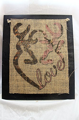 Burlap-Country-Rustic-Chic-Wedding-Sign-Western-Home-Dcor-Sign-Browning-Love-Camo-Pink-Camo
