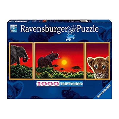 Ravensburger 19991 Trittico Schimmel Africa Puzzle Da 1000 Pezzi