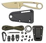 ESEE Desert Tan Izula Knife w/ Survival Kit