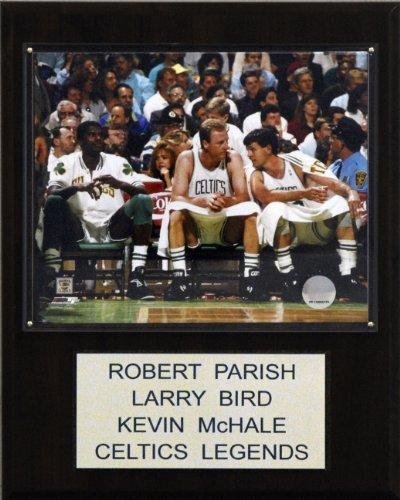 NBA Bird-Parrish-McHale Boston Celtics Player Plaque ()