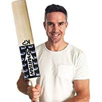 Spartan, Cricket, Rhino 3 English Willow Cricket Bat, Black, Short Handle