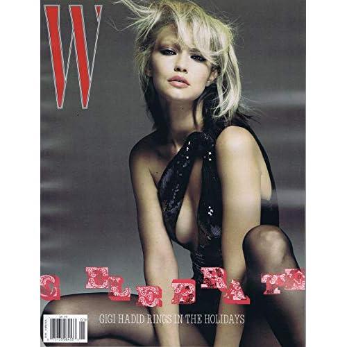 W Magazine 表紙画像
