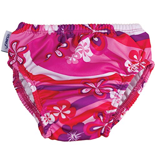 Swim Diaper - Flower Power XXL