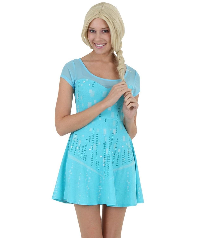 Amazon.com: Disney Frozen I Am Elsa Juniors Skater Dress: Clothing
