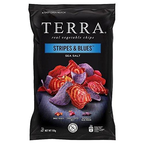 Terra Stripes And Blues Sea Salt Chips 110g