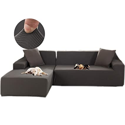 Amazon.com: Obokidly Universal Furniture Slipcover for L ...