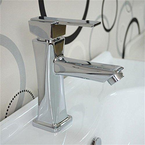 Home Tap Bad Wasserhahn Kupfer Waschbecken heißen und kalten Waschtischmischer