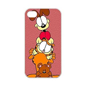 Zyhome iPhone 4,4S White Frosted Disney Winnie the Pooh Eeyore Case for iPhone 4,4S 100% TPU (Laser Technology)