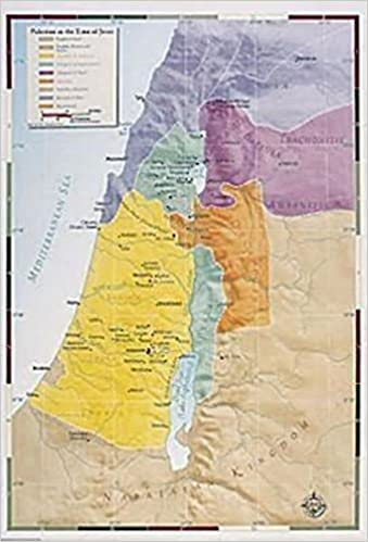 Read online Abingdon Bible Land Map--Palestine in the Time of Jesus PDF