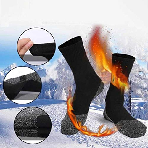 BianchiPatricia Thermal Socks Below 35 Degrees For Outdoor Sports with Long Luminous Fibers