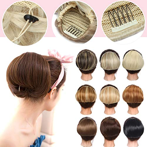 Straight Scrunchies Hepburn Drawstring Hairpiece ash product image