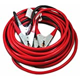 ABN Jumper Cables, 25' Feet Long, 2-Gauge, 600 AMP – Commercial Automotive Vehicle Booster Cables – Motorcycle Car ATV