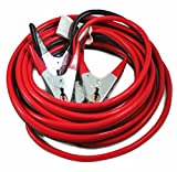 ABN Jumper Cables with Carrying Bag, 25' Feet, 2-Gauge, 600 AMP – Commercial Grade Automotive Booster Cables Any Vehicle