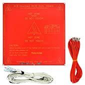 [Sintron] 3d Printer Kit , Ramps 1.4 + Mega 2560 + 5pcs A4988 Stepper Driver w/ Heatsink + LCD 12864 Smart Controller + 3 Pcs End Stop + Mk2b Heat Bed + 2 Pcs Pulley + 2m Gt2 Belts for Reprap Prusa i3