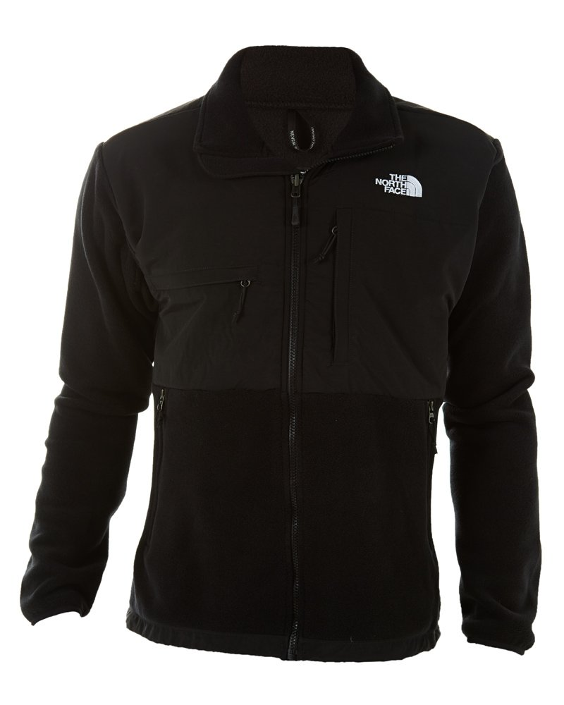 The North Face Men's Full Zip Denali Jacket, Recycled TNF Black, Medium