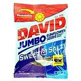 Cheap DAVID Sunflower Seeds Jumbo Sweet and Salty – Bag 5.25 oz each (12 Pack)