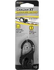 Nite Ize CamJam XT Aluminum Cord Tightener, Versatile Tie Down Cam Mechanism With Carabiner Clip + 280 LB Load Limit