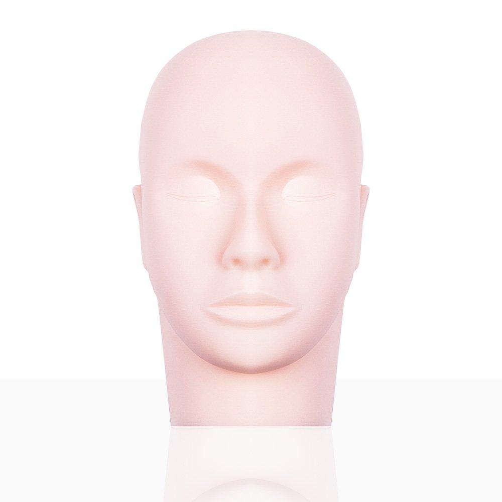 Kosmetologie Massage Training Mannequin Make-up Praxis Head Modell Wimpernverlängerung LIARTY