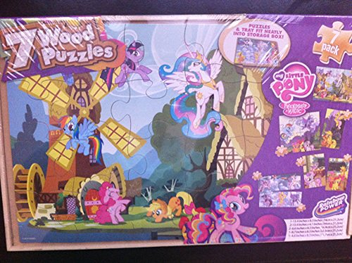 My Little Pony 7 Wood Puzzles