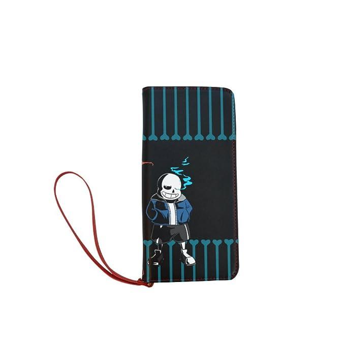 seallm Sans personalizados de mujeres y papyrus UNDERTALE cartera larga monedero del embrague: Amazon.es: Ropa y accesorios