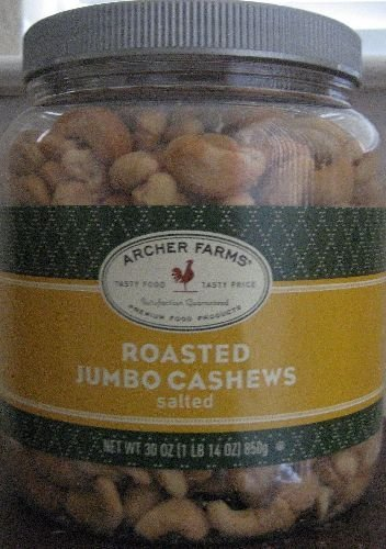 Archer Farms Roasted Cashews Salted product image