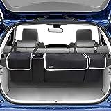 Backseat Trunk Organizer for SUV - Hanging Organizer Foldable Cargo Storage Bag