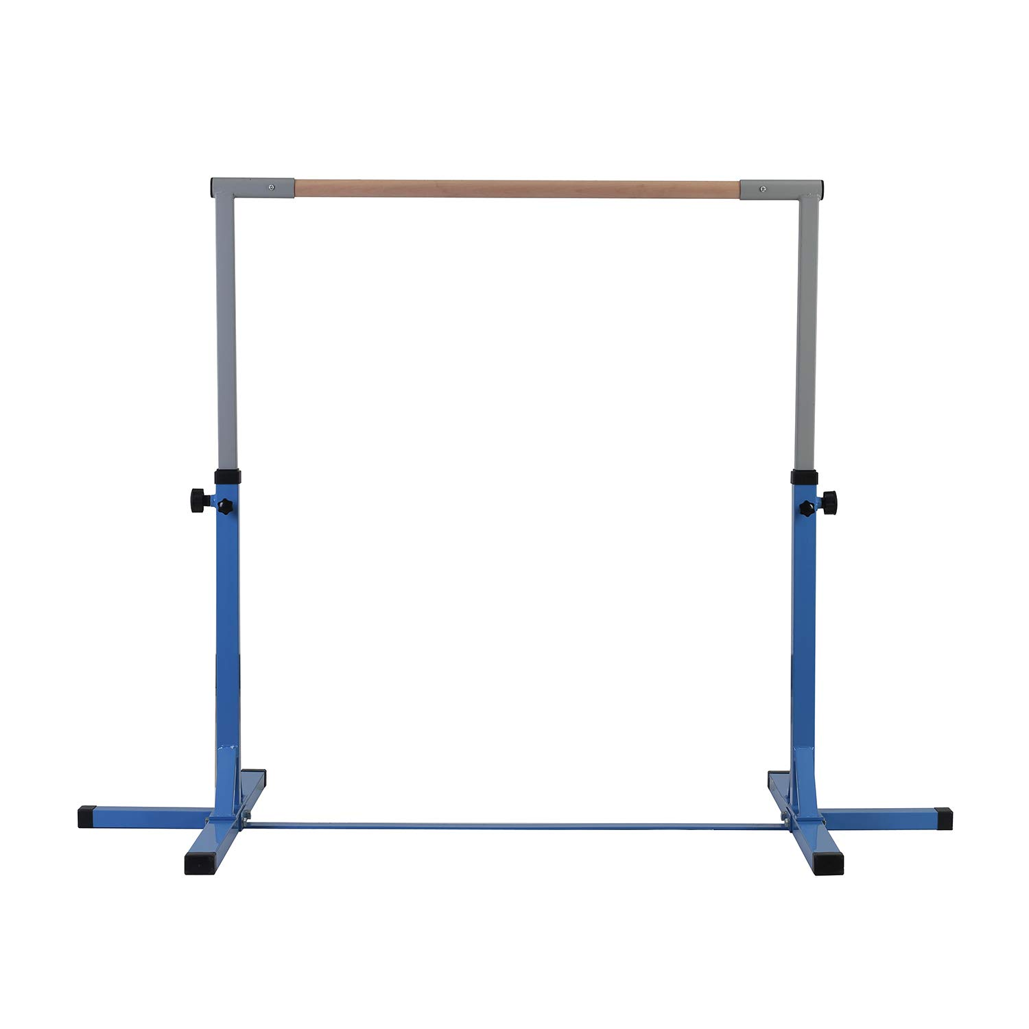 LEISURELIFE Adjustable Height Kip Bar-Fitness Gymnastics Training Horizontal Bar Blue for Boys by LEISURELIFE (Image #1)