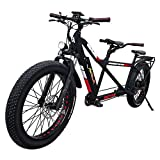 Addmotor MOTAN Adults Electric Bicycles for Women Men 750W 26 Inch Fat Tires Tandem Bikes with Removable Large Capacity Lithium-Ion Battery 48V 14.5Ah M-250 Two-Seater Electric Bikes
