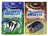 Product review for Twistix Natural Small Size Dog Treat 2 Flavor Variety Bundle: (1) Twistix Vanilla Mint Fresh Breath, and (1) Twistix Peanut & Carob Flavor, 5.5 Oz Ea (2 Bags Total)