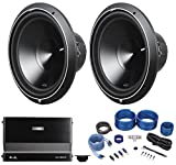 "Best unknown 15 Inch Subwoofers - (2) Rockford Fosgate Punch P3D4-15 15"" 2400w Subwoofers+Mono Review"