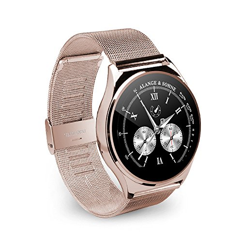 Lemumu Reloj inteligente 9,8 mm redonda de metal fino ...