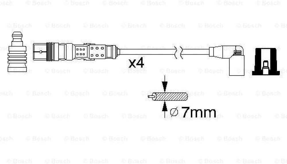 Bosch 0986356331 Ht Ignition Cable