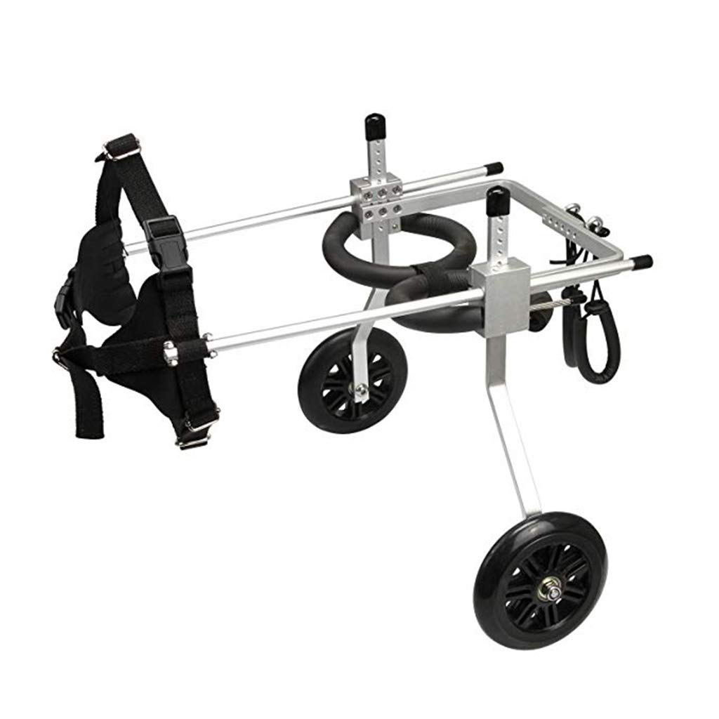 Kitzen Dog Wheelchair Disability Pet Hind Limbs Two-Wheeled Wheelchair Assisted Rehabilitation Exercise Small and Medium Large Dogs XS Size by Kitzen