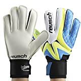 1 Pair Goalkeeper Gloves, Thickened Latex Soccer Finger Save Protection Goalie Gloves Football Full Finger Gloves