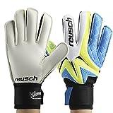 1 Pair Goalkeeper Gloves, Thickened Latex Soccer Finger Save Protection Goalie Gloves Football