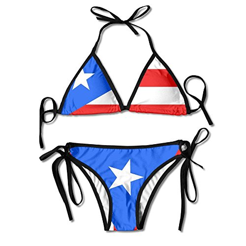Sexy One Women's Fashion Rico Size Swimsuit Flag Puerto v84qpzg