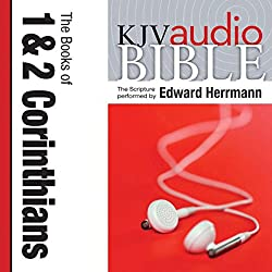 King James Version Audio Bible: The Books of 1 and 2 Corinthians