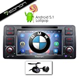 Eonon GA6150 + HD BACKUP CAMERA for BMW 98-05 3-series E46 — Direct-fit Android 5.1 Lollipop 7-Inch LCD Touch Screen – Google Play / DVD / GPS Navigation / Screen Mirroring / Bluetooth